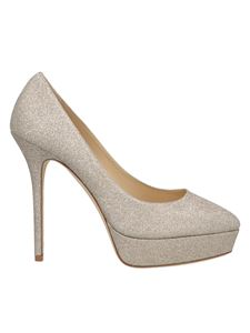 Jimmy Choo - Jenara pumps in platinum color