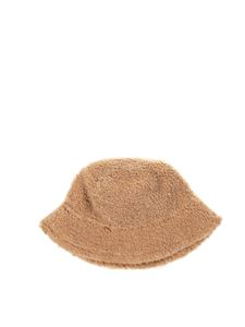 Il Gufo - Teddy effect hat in beige