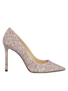 Jimmy Choo - Multicolor Romy 100 pumps