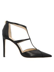 Jimmy Choo - Saoni 100 pumps in black