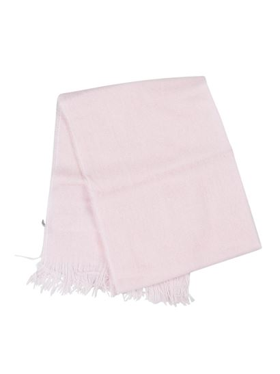 Il Gufo - Fringes scarf in pink