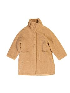 Il Gufo - Teddy effect coat in beige