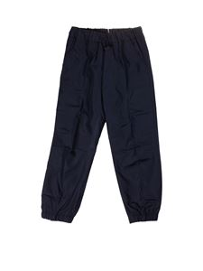 Il Gufo - Technical fabric pants in blue