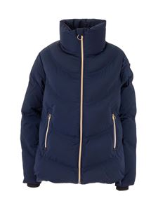 Rossignol - Logo patch down jacket in blue