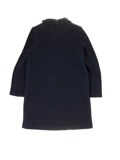 Il Gufo - Rouches coat in blue
