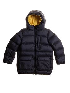 Il Gufo - Quilted down jacket in blue
