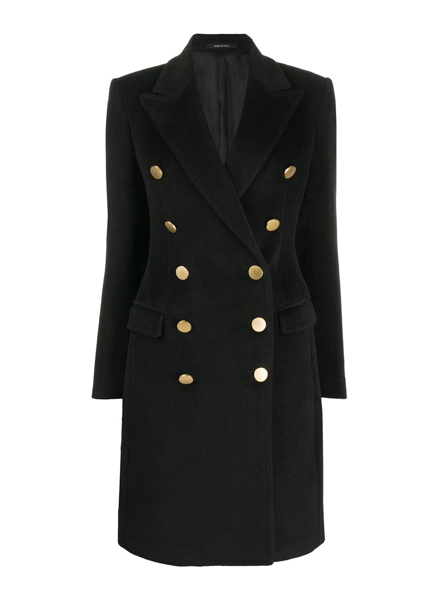 Tagliatore ANGORA AND WOOL COAT
