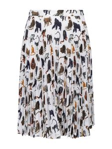 Burberry - Monkey printed skirt