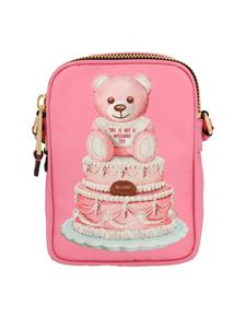 Moschino - Cake Teddy Bear vertical bag in pink