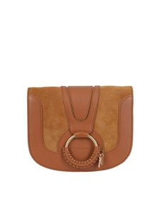 See by Chloé - Hana calfskin and suede bag