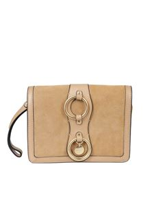 See by Chloé - Calfskin Roby bag with woven ring
