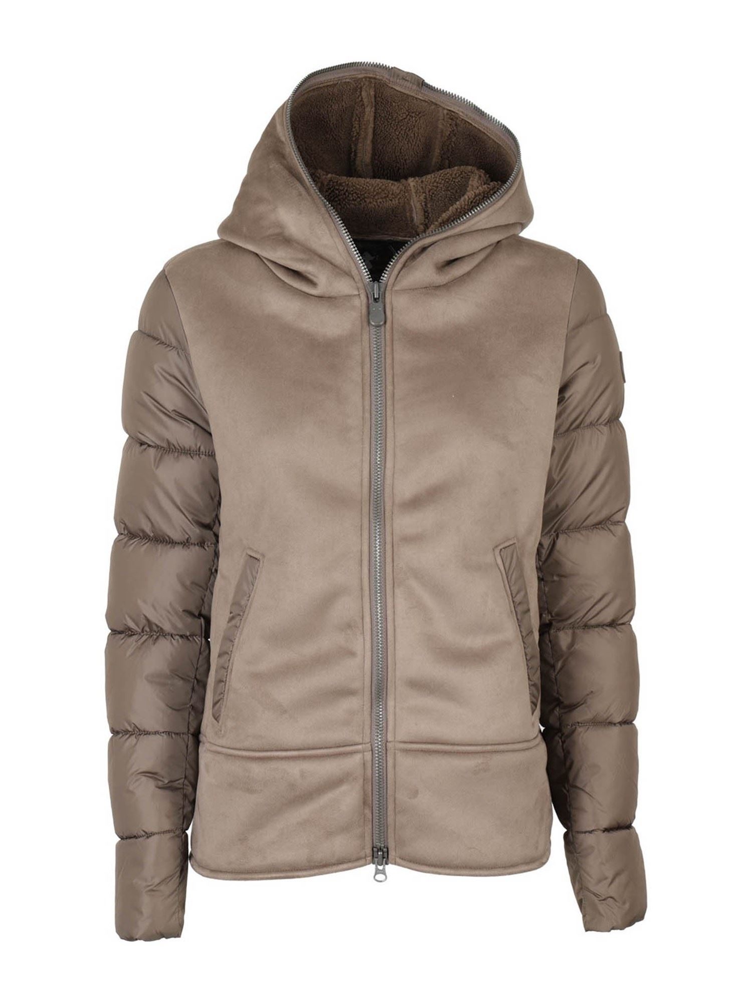 Save The Duck SYNTHETIC SHEARLING PUFFER JACKET