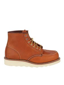 Red Wing shoes - 875 Classic Moc Toe mountain boots