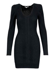 Patrizia Pepe - Long sleeved wool blend dress