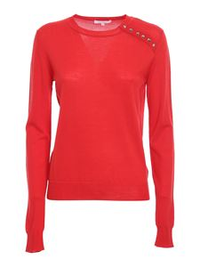 Patrizia Pepe - Studded ultrafine wool jumper