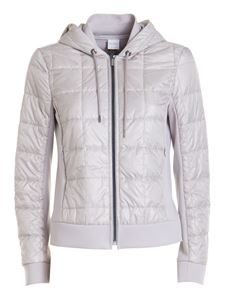 Max Mara - Quilted detail hooded jacket