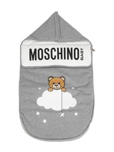 Moschino Kids - Teddy Bear cotton sleeping bag