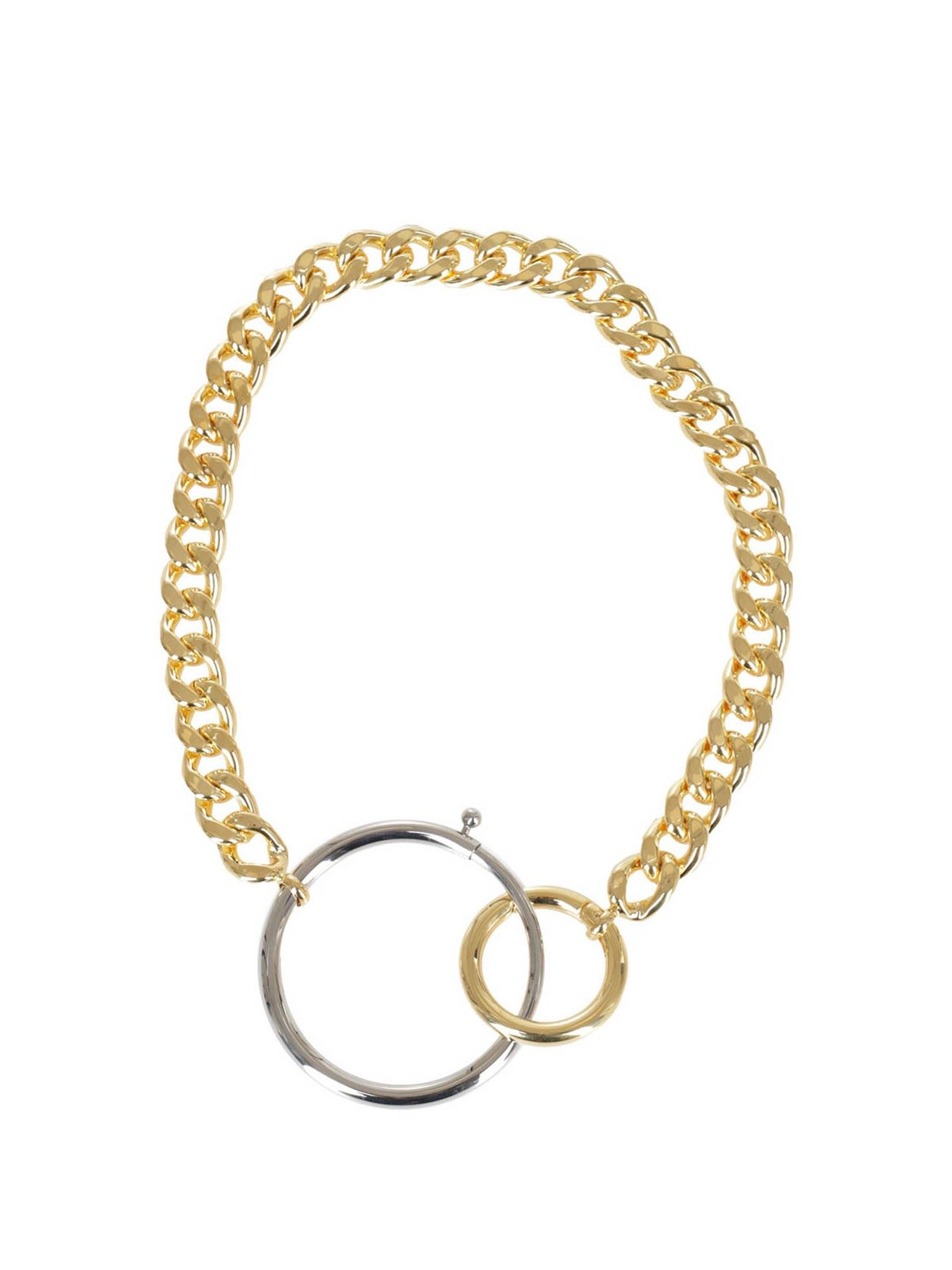 MM6 MAISON MARGIELA BRASS NECKLACE