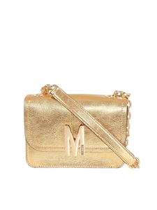 Moschino - Laminated leather bag