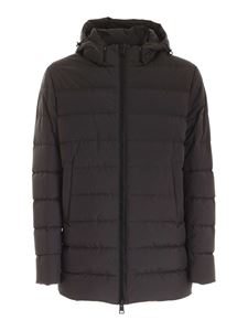 Herno - Gore-tex Infinium ™ down jacket in anthracite color