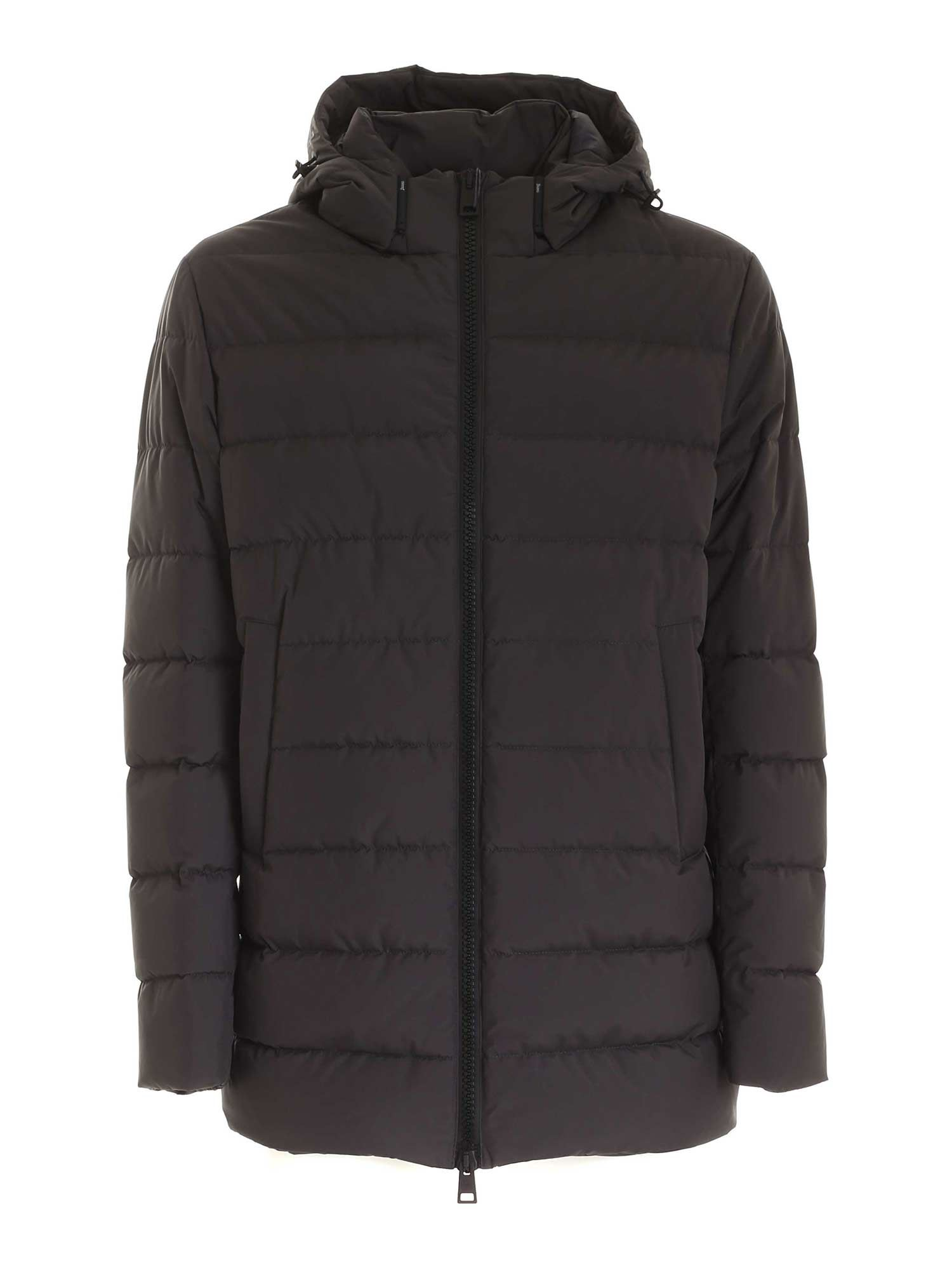 Herno Downs GORE-TEX INFINIUM ™ DOWN JACKET IN ANTHRACITE COLOR