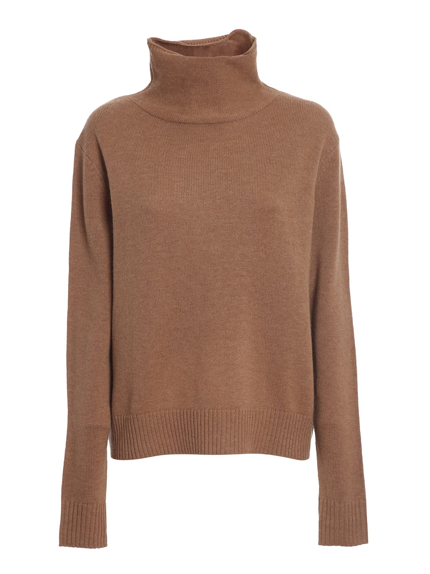 Aspesi STOCKING STITCH WOOL TURTLENECK