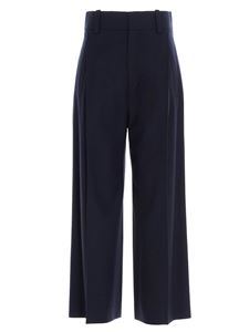 Chloé - Wide legged pants in blue