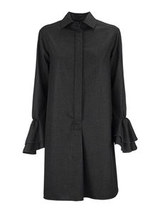 Max Mara - Segovia wool flannel dress