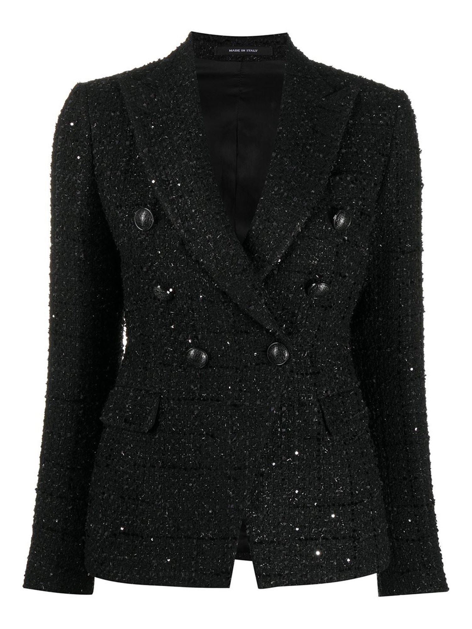 Tagliatore SEQUINED TWEED BLAZER