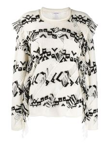 Parosh - Inlaid patterned sweater