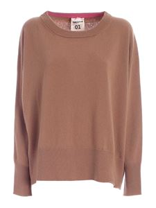 Semicouture - Marlene pullover in camel color
