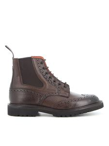 Tricker's - Ellis brogue ankle boots
