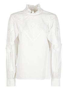 See by Chloé - Sangallo lace blouse