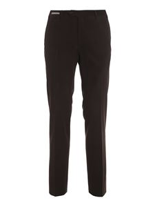 Corneliani - Stretch cotton twill pants