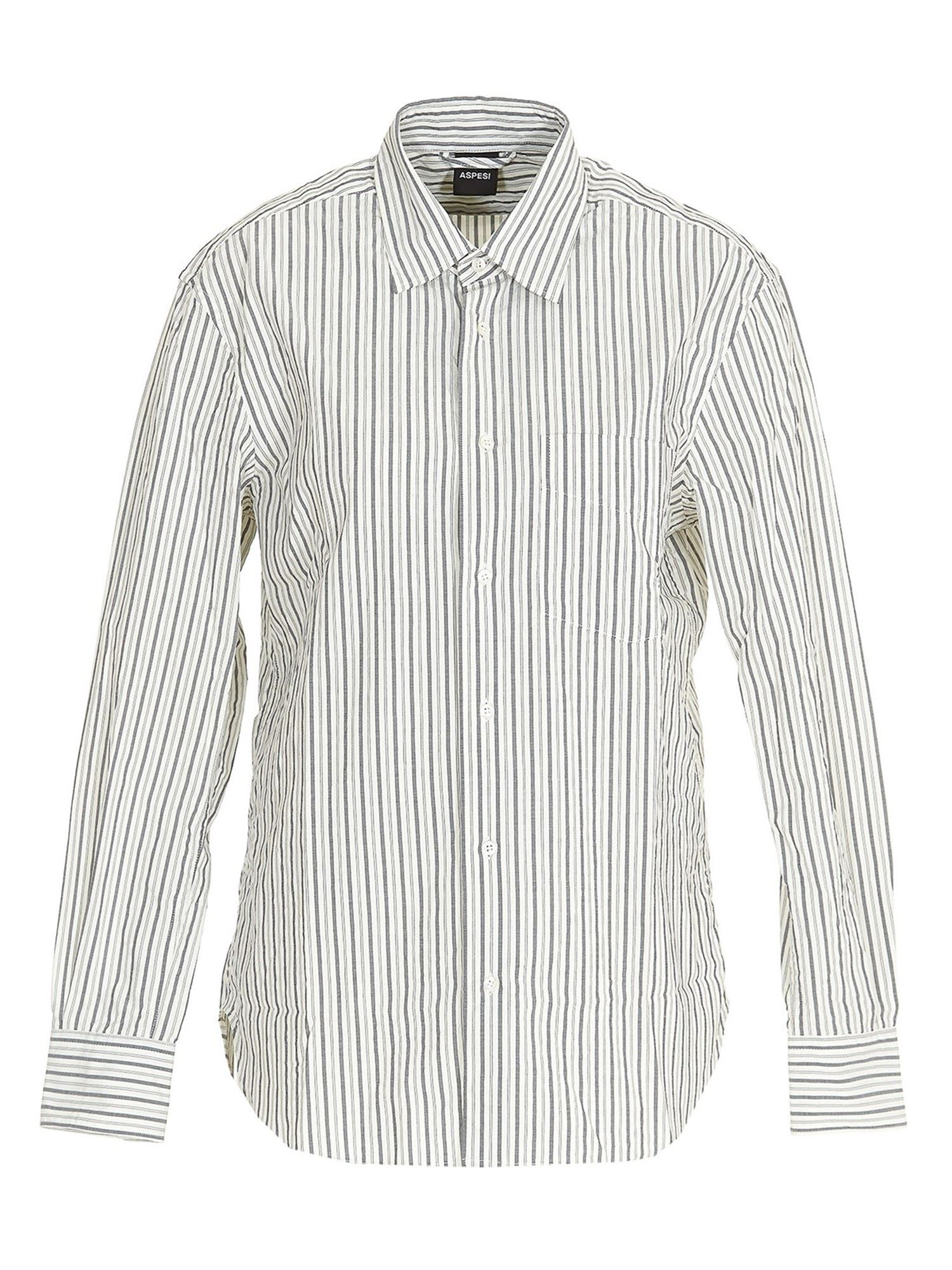 Aspesi STRIPES PATTERNED SHIRT