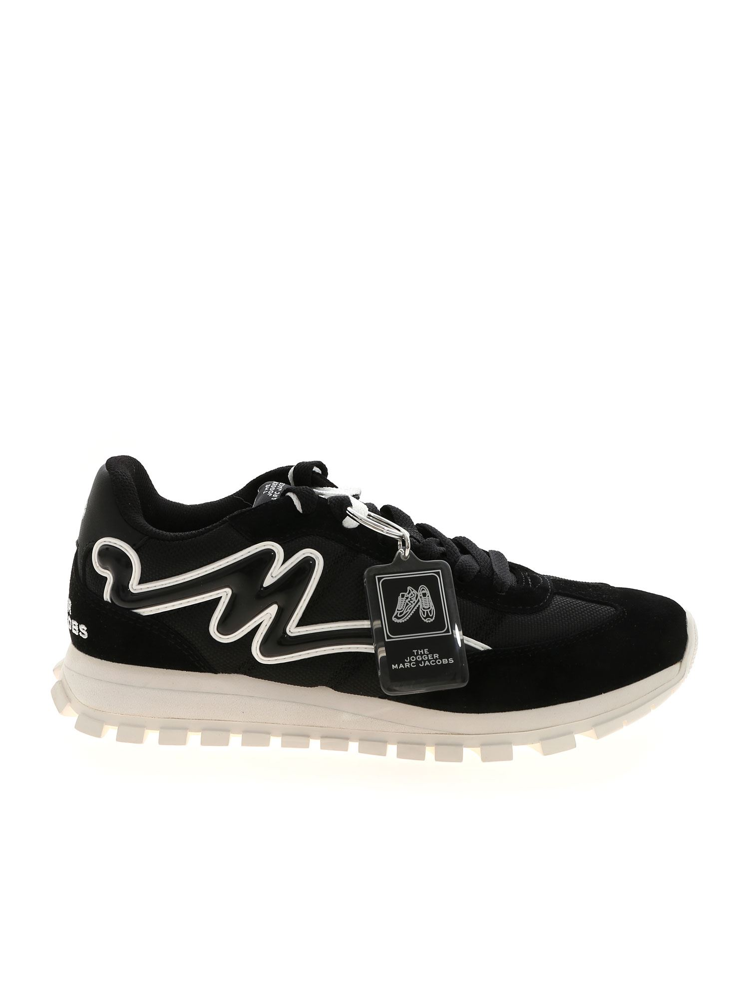 Marc Jacobs THE JOGGER SNEAKERS IN BLACK