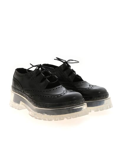 Marc Jacobs  - Brogue The Ghille shoe in black
