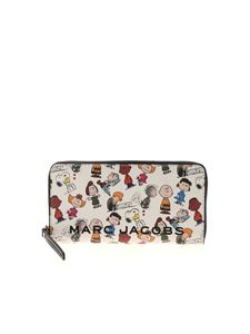 Marc Jacobs  - Peanuts x The Marc Jacobs wallet in white
