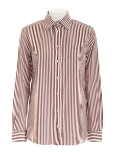 Max Mara Weekend - Arpa shirt in white and bronze color