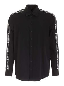 Dsquared2 - Branded band shirt in black