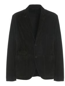 Ermenegildo Zegna - Suede leather jacket in green