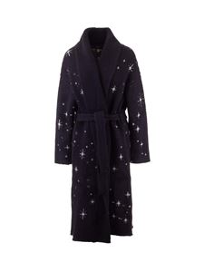 Alanui - Faraway From Home coat in blue