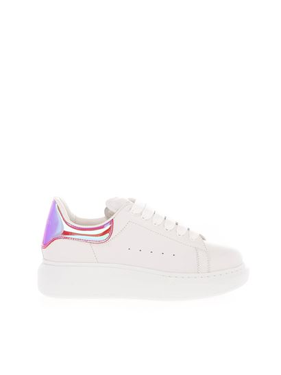 Alexander McQueen Kids - Kids Oversize sneakers in white and pink
