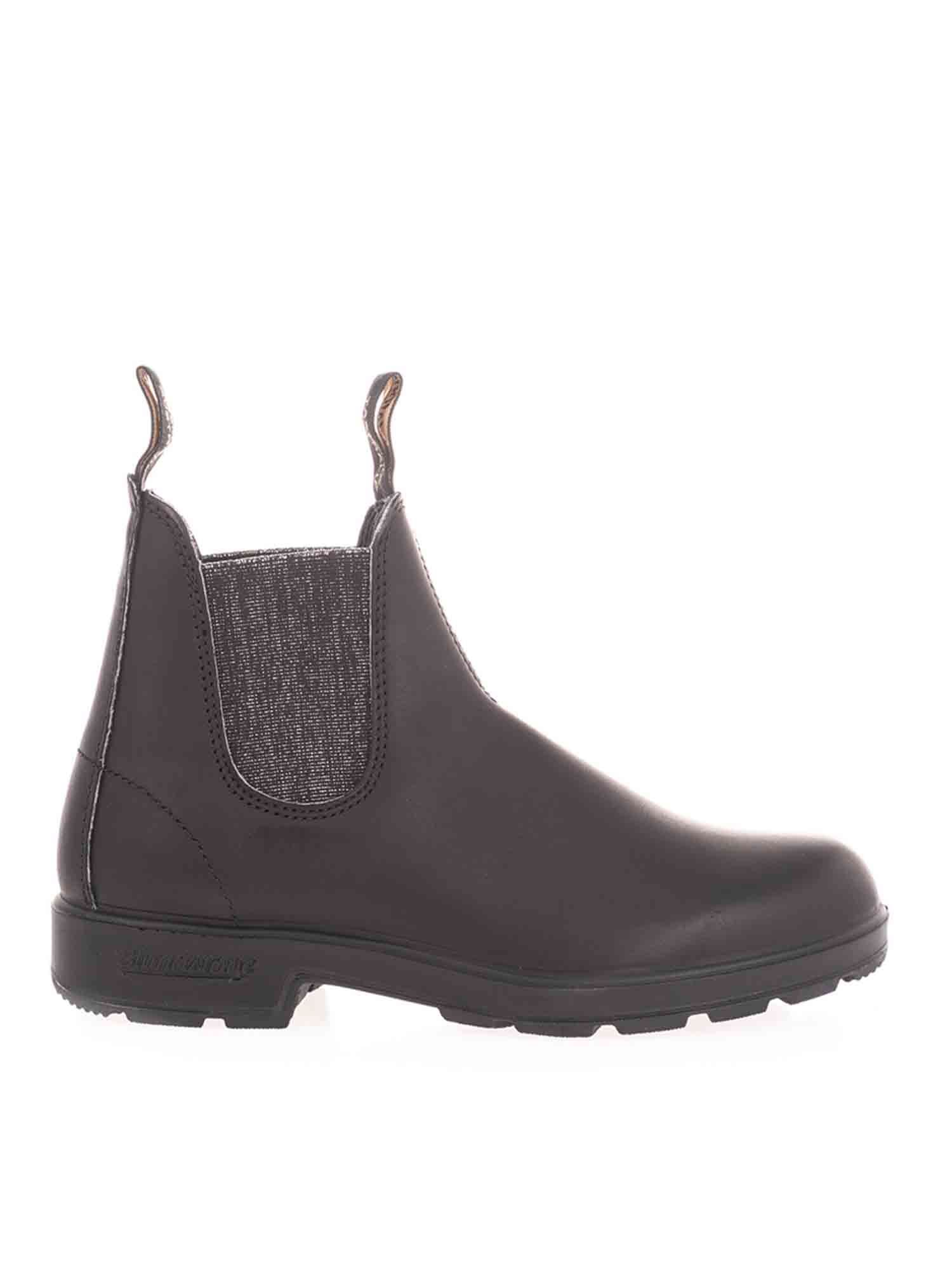 Blundstone ELASTICATED DETAILS ANKLE BOOTS IN BLACK