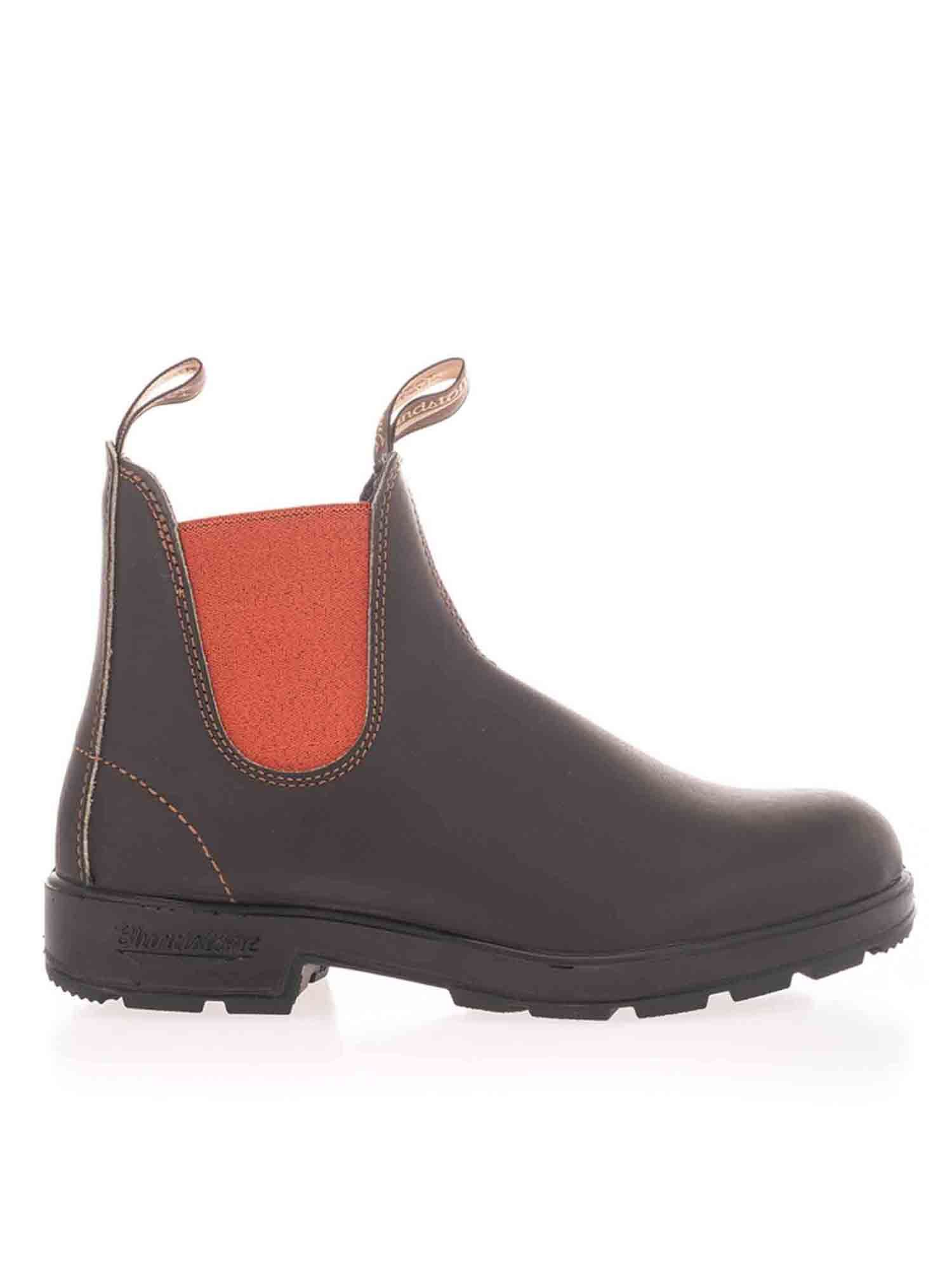 Blundstone ELASTICATED INSERTS ANKLE BOOTS IN BROWN
