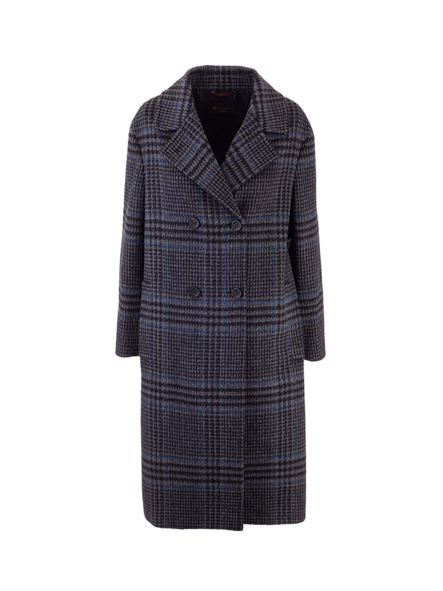 LORO PIANA Silks MICHAEL COAT IN GREY