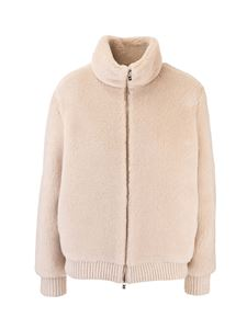 Loro Piana - Reversible bomber in ivory color