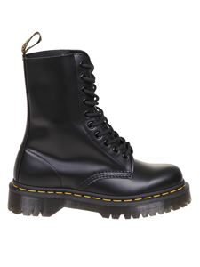 Dr. Martens - Anfibi Smooth in pelle nera