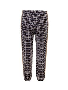 Gucci - Checked pants in blue