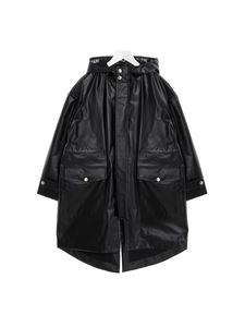Balmain - Hooded parka in black
